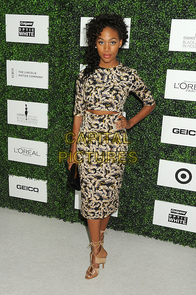 27 February 2014 - Beverly Hills, California - Nicole Beharie. 7th Annual ESSENCE &quot;Black Women in Hollywood&quot; Luncheon held at the Beverly Hills Hotel.<br /> CAP/ADM/BP<br /> &copy;Byron Purvis/AdMedia/Capital Pictures