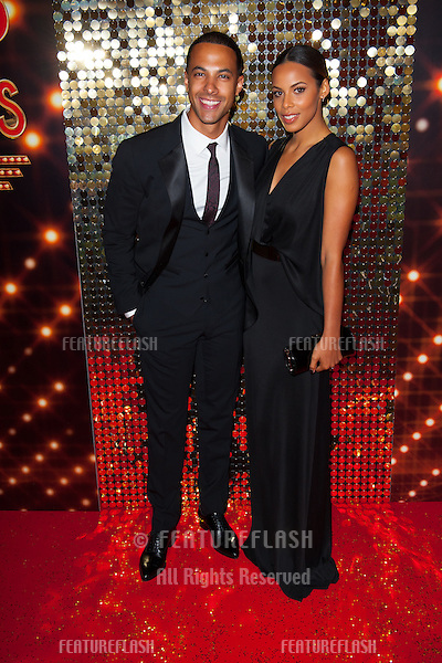 Rochelle and Marvin Humes arriving for the 2014 British Soap Awards, at the Hackney Empire, London. 24/05/2014 Picture by: Dave Norton / Featureflash