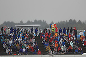6th October 2017, Suzuka Circuit, Suzuka, Japan; Japanese Formula One Grand Prix, Friday Free Practice; Fans in the wet