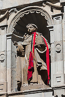 Espagne, Navarre, Pampelune:  Eglise Santo Domingo détail  //  Spain, Navarre, Pamplona: Church of Santo Domingo