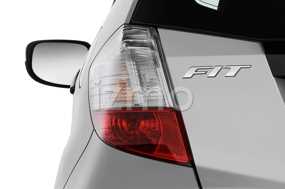 Tail light close up detail view of a 2009 Honda Fit Sport