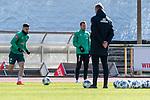 12.03.2020, Trainingsgelaende am wohninvest WESERSTADION,, Bremen, GER, 1.FBL, Werder Bremen Training, im Bild<br /> <br /> Milot Rashica (Werder Bremen #07)<br /> Philipp Bargfrede (Werder Bremen #44)<br /> <br /> <br /> Foto © nordphoto / Kokenge