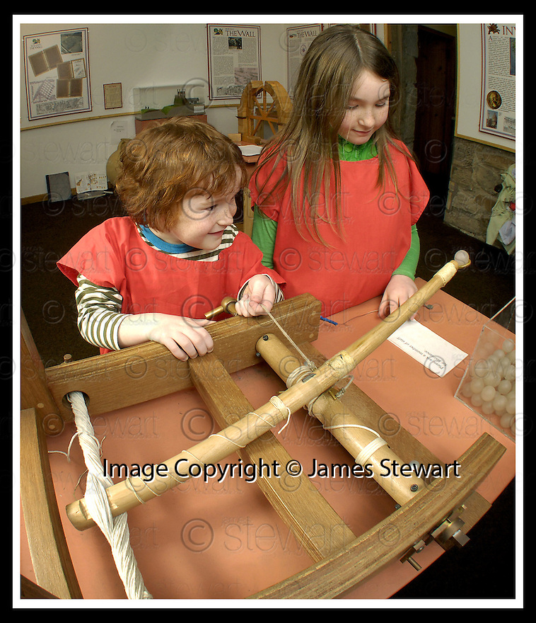 19/02/2007       Copyright Pic: James Stewart.File Name : jspa04_kinneil.CHILDREN ENJOY THE INTERACTIVE ACTIVITIES AT KINNEL MUSEUM.....James Stewart Photo Agency 19 Carronlea Drive, Falkirk. FK2 8DN      Vat Reg No. 607 6932 25.Office     : +44 (0)1324 570906     .Mobile   : +44 (0)7721 416997.Fax         : +44 (0)1324 570906.E-mail  :  jim@jspa.co.uk.If you require further information then contact Jim Stewart on any of the numbers above.........