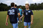 CARY, NC - SEPTEMBER 29: UNC's Cam Lindley. The University of North Carolina Tar Heels hosted the North Carolina State University Wolfpack on September 29, 2017 at Koka Booth Field at WakeMed Soccer Park in Cary, NC in a Division I college soccer game.