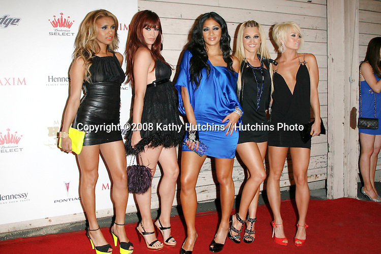 The Pussycat Dolls.Maxim 100 Party - 2008.Paramount Studios.Los Angeles, CA.May 21, 2008.©2008 Hutchins Photo....