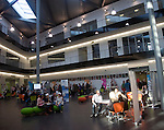 Student Open day at Suffolk New College, Ipswich, England