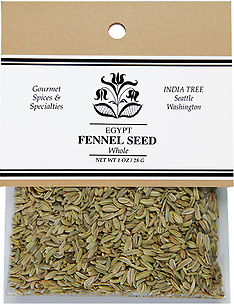 20607 Fennel Seed, Caravan 1 oz, India Tree Storefront