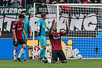 11.05.2019, HDI Arena, Hannover, GER, 1.FBL, Hannover 96 vs SC Freiburg<br /> <br /> DFL REGULATIONS PROHIBIT ANY USE OF PHOTOGRAPHS AS IMAGE SEQUENCES AND/OR QUASI-VIDEO.<br /> <br /> im Bild / picture shows<br /> Souza Silva Walace (Hannover 96 #08) bejubelt seinen Treffer zum 3:0, <br /> <br /> Foto © nordphoto / Ewert
