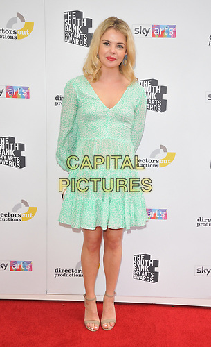Saoirse-Monica Jackson at the South Bank Sky Arts Awards 2019, The Savoy Hotel, The Strand, London, England, UK, on Sunday 07th July 2019.<br /> CAP/CAN<br /> ©CAN/Capital Pictures