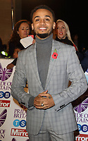 Aston Merrygold at the Pride Of Britain Awards held at Grosvenor House, Park Lane, London, UK on the 30th October 2017<br /> CAP/ROS<br /> &copy;ROS/Capital Pictures /MediaPunch ***NORTH AND SOUTH AMERICAS ONLY***