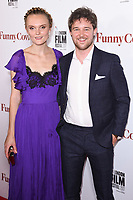 Hebe Beardsall &amp; Tom Gibbons at the London Film Festival 2017 screening of &quot;Funny Cow&quot; at the Vue West End, Leicester Square, London, UK. <br /> 09 October  2017<br /> Picture: Steve Vas/Featureflash/SilverHub 0208 004 5359 sales@silverhubmedia.com