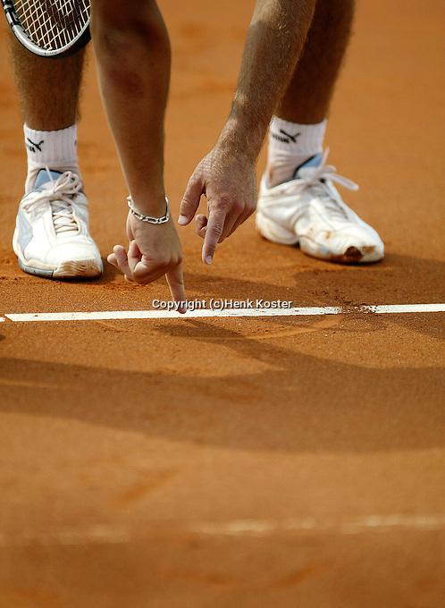 20030719, Amersfoort, Tennis Dutch Open, close call