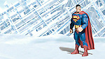 Superman at Fortress of Solitude