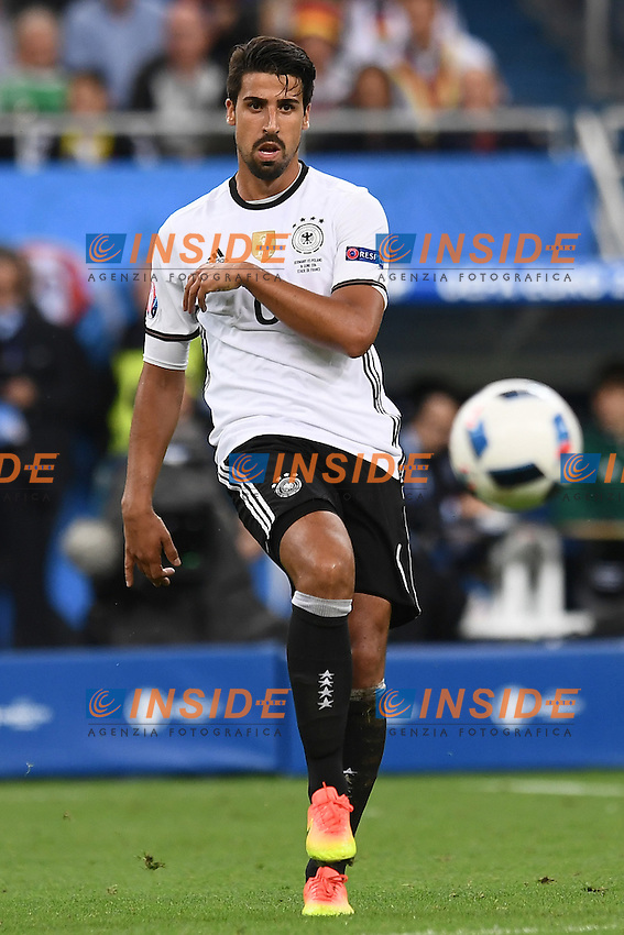 Sami Khedira <br /> Paris 16-06-2016 Stade de France Football Euro2016 Germany - Poland / Germania - Polonia Group Stage Group C. Foto Matteo Gribaudi / Insidefoto / Insidefoto