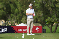 Soren Kjeldsen (DEN) on the 4th during Round 1 of the Omega Dubai Desert Classic, Emirates Golf Club, Dubai,  United Arab Emirates. 24/01/2019<br /> Picture: Golffile | Thos Caffrey<br /> <br /> <br /> All photo usage must carry mandatory copyright credit (&copy; Golffile | Thos Caffrey)