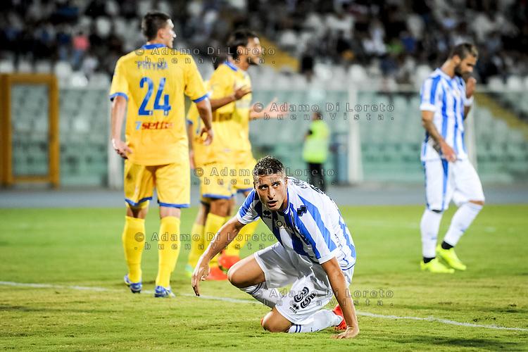 Coda Andrea (PESCARA) during the Italian Cup - TIM CUP -match between Pescara vs Frosinone, on August 13, 2016. Photo: Adamo Di Loreto/BuenaVista*photo