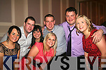 MART NIGHT: Enjoying a top night out at the Kenmare Mart social in the Kenmare Bay Hotel on Saturday night were Hazel Sheehan, Paddy Harrington (Eyries), Laura Reidy, Keira Sheehan, Johnny Fitzgerald, Bryan Sullivan and Marie Reidy.