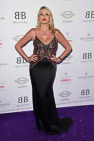 Nancy Sorrell<br /> arriving for Caudwell Butterfly Ball 2019 at the Grosvenor House Hotel, London<br /> <br /> ©Ash Knotek  D3508  13/06/2019