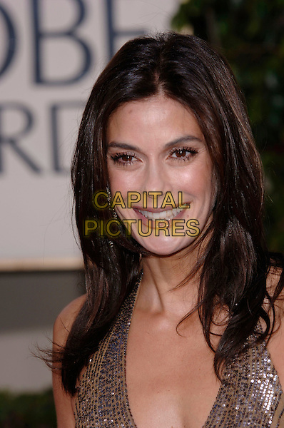 TERI HATCHER.HFPA 63rd Golden Globe Awards at The Beverly Hills Hilton, Beverly Hills, California, USA..January 16th, 2006.Ref: PL .globes headshot portrait sequins.www.capitalpictures.com.sales@capitalpictures.com.©Phil Loftus/Capital Pictures