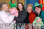 Maura, Myra and Amy Lynch, with Betty Heaphy, Bernadette Lynch, Mathew Stack .and Brendan Lynch and John Stack, all from Listowel and watching the .Listowel St Patrick's Day parade on Sunday..   Copyright Kerry's Eye 2008