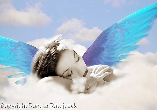 Sleeping Angel - Surreal Photo-illustration