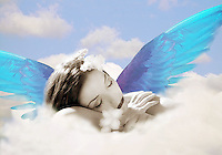 Sleeping Angel - Surreal Photo-illustration