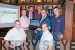 Ballydonoghue Website Launch: Attending the launch of the Ballydonoghue GAA website at the Thatch Bar in Liselton on Friday night last were in front Tim O'Connor PRO and John Stack. Back: Pat O'Sullivan, Gerard Moran, Secretary, Pat O'Connor, Francis Kennelly, Chairman and Martin Sheehy.