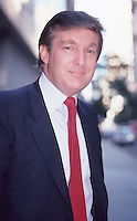 Donald Trump 1987 NYC By Jonathan Green