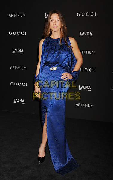 LOS ANGELES, CA - NOVEMBER 01: Actress Rhona Mitra attends the 2014 LACMA Art + Film Gala honoring Barbara Kruger and Quentin Tarantino presented by Gucci at LACMA on November 1, 2014 in Los Angeles, California.<br /> CAP/ROT/TM<br /> &copy;Tony Michaels/Roth Stock/Capital Pictures
