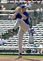 May 26, 2004:  Pitcher Bob Keppel of the Norfolk Tides, Triple-A International League affiliate of the New York Mets, during a game at Frontier Field in Rochester, NY.  Photo by:  Mike Janes/Four Seam Images