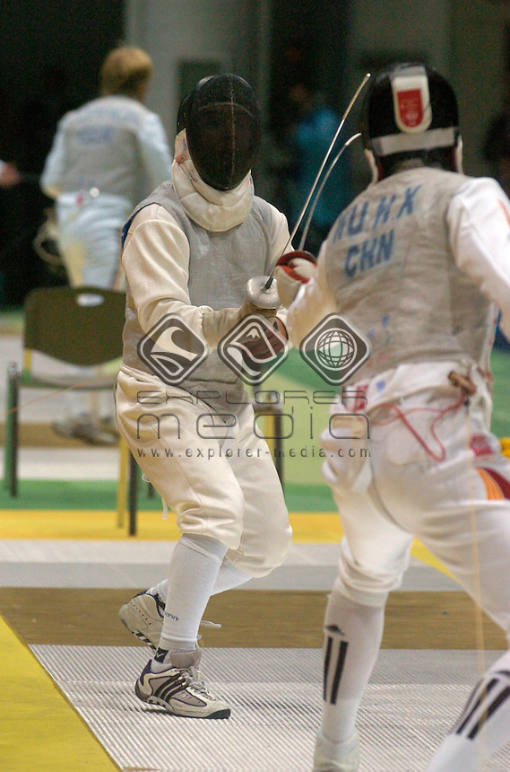 Frank Bartolillo (AUS)<br /> Fencing - Men's Foil<br /> Olympics - 2004 Athens Greece / Summer Games<br /> 13 - 29 August 2004<br /> &copy; Sport the library/Courtney Harris