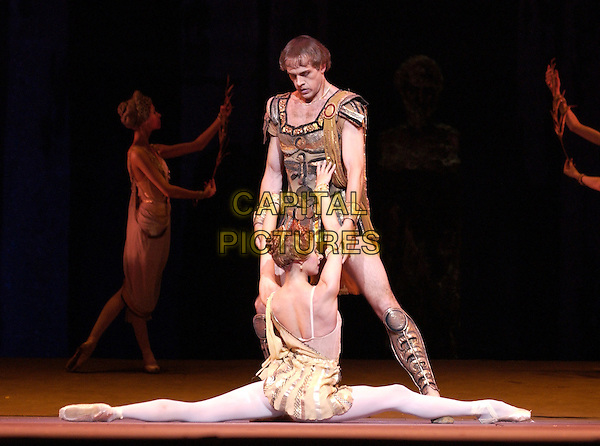 BOLSHOI BALLET.dances Spartacus in in a technical dress rehearsal, Royal Opera House Covent Garden, London, 29th July 2004..Ref: PL.www.capitalpictures.com.sales@capitalpictures.com.©Capital Pictures.