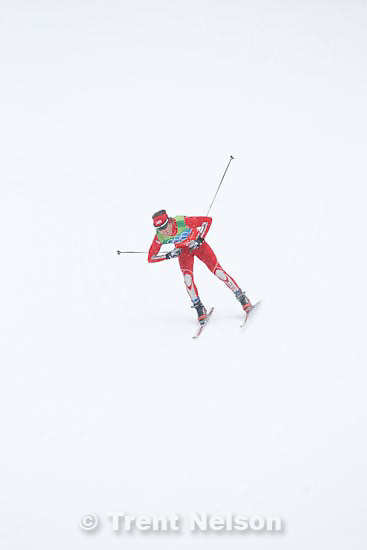 Trent Nelson  |  The Salt Lake Tribune.Team 4x5km Nordic Combined on the cross country track at the Whistler Olympic Park, XXI Olympic Winter Games in Whistler, Tuesday, February 23, 2010. Brett Camerota