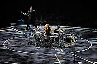 LONDON, ENGLAND - APRIL 3: Dominic Howard and Chris Wolstenholme of 'Muse' performing at the O2 Arena on April 3, 2016 in London, England.<br /> * Press use only. No merchandising *<br /> CAP/MAR<br /> &copy;MAR/Capital Pictures /MediaPunch ***NORTH AND SOUTH AMERICAS ONLY***