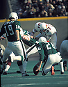 Philadelphia Eagles Tom Dempsey(19) in action during a game against the St. Louis Cardinals at Veterans Stadium in Philadelphia, Pennsylvania. Tom Dempsey played for 11 years with 5 different teams and was a 1-time Pro Bowler.David Durochik/SportPics