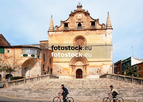 Parish church Sant Miguel in Felanitx, Majorca, Spain<br /> <br /> Iglesia parroquial Sant Miguel de Felanitx, Mallorca, Espa&ntilde;a<br /> <br /> Pfarrkirche San Miguel in Felanitx, Mallorca, Spanien<br /> <br /> 3008 x 2000 px