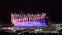 Olympic Games 2012 Opening ceremony...Fireworks.....Pic by Gavin Rodgers/Pixel 8000 Ltd