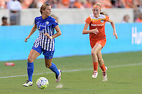 Houston, TX - Sunday Sept. 11, 2016: Kylie Strom during a regular season National Women's Soccer League (NWSL) match between the Houston Dash and the Boston Breakers at BBVA Compass Stadium.