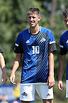 28 August 2016: UNC Asheville's Joe LaCasto. The Duke University Blue Devils hosted the University of North Carolina Asheville Bulldogs at Koskinen Stadium in Durham, North Carolina in a 2016 NCAA Division I Men's Soccer match. Duke won the game 5-1.
