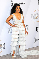 LOS ANGELES - JAN 27:  Angela Bassett at the 25th Annual Screen Actors Guild Awards at the Shrine Auditorium on January 27, 2019 in Los Angeles, CA