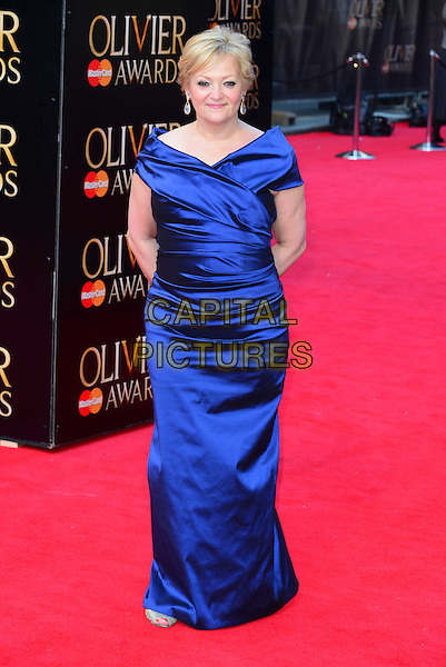 LONDON, ENGLAND - APRIL 13:  Maria Friedman attends The Olivier Awards, the illustrious ceremony celebrating the very best in English theatre, at Royal Opera House, Covent Garden, on April 13, 2014, in London, England.<br /> CAP/JOR<br /> &copy;Nils Jorgensen/Capital Pictures