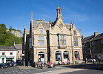 The Town hall built 1832, Settle, Settle, North Yorkshire. England, UK