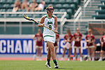 RICHMOND, VA - APRIL 27: Notre Dame's Savannah Buchanan. The Notre Dame Fighting Irish played the Boston College Eagles on April 27, 2017, at Sports Backers Stadium in Richmond, VA in an ACC Women's Lacrosse Tournament quarterfinal match. Boston College won the game 17-14.