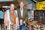 Bernie, Ellie Mae and Michael O'Sullivan at the Christmas fair in Killarney Outlet Centre on Sunday
