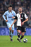 Miralem Pjanic of Juventus and Alvaro Morata of Atletico Madrid during the UEFA Champions League match at Juventus Stadium, Turin. Picture date: 26th November 2019. Picture credit should read: Jonathan Moscrop/Sportimage