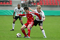 Luigi San Nicholas Schellens (AND) gegen Christopher Buchtmann (D, 1. FC Koeln)