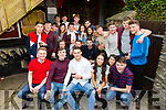 Gavan O'Brien from Strand Road, Tralee seated front centre celebrated his 21st Birthday with friends on a ring of Kerry Road trip on Saturday pictured here in the Anchor Bar, Cahersiveen.