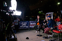 Harrison, NJ - Friday Sept. 01, 2017: MLS after show after a 2017 FIFA World Cup Qualifier between the United States (USA) and Costa Rica (CRC) at Red Bull Arena.