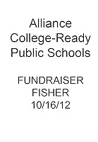 ALLIANCE Fundraiser Fisher