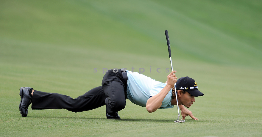 CAMILO VILLEGAS, during the second round of the Quail Hollow Championship, on May 1, 2009 in Charlotte, NC.